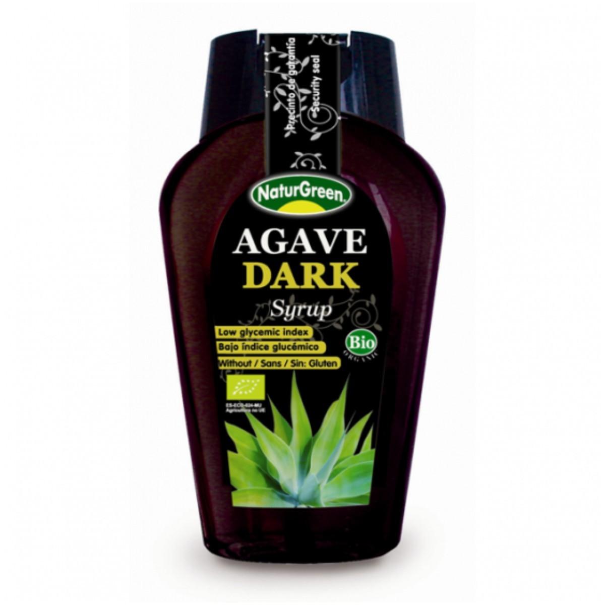 Agaavisiirup tume 360ml/495g Naturgreen