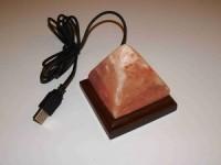 Soolalamp mini, püramiid (USB liidesega, LED)