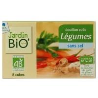 JardinBio puljongikuubikud ilma soolata 8x9g