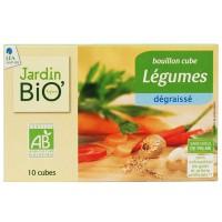 JardinBio madala rasvasisaldusega köögiviljapuljongi kuubikud 8x10g