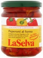 Paprikatükid oliiviõlis 180g LaSelva