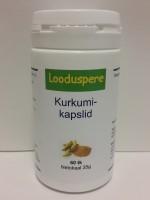 Kurkumikapslid C-vitamiiniga 60tk