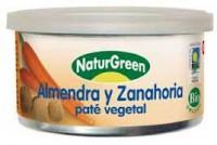 Mandli-porgandipasteet 125g Naturgreen