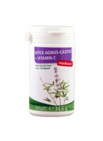 Mungapipra kapslid C-vitamiiniga, 60tk / toidulisand Medicura