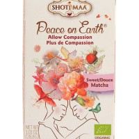 """Tee """"Allow Compassion"""", Magus Matcha (mahe) 16 x 1,8g"""