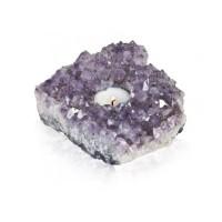 Teeküünla alus-Ametüst kristallid