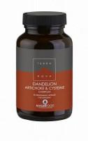 Dandelion, Artichoke & Cysteine Complex 50 kaps Terranova (Vegan)