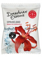 Kihisev vannitablett, soojendav liilia, 70g / Dresdner Essenz