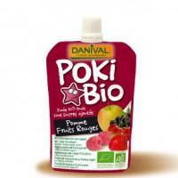 Danival PokiBio õuna-punase marja püree 90g