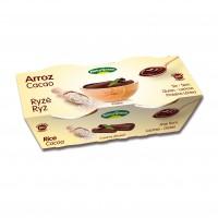Riisidessert kakaoga 2x125g NaturGreen