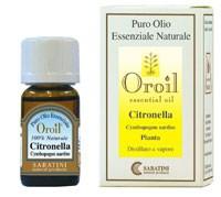Sabatini tsitronella e lõhnava sidrunheina eeterlik õli 10ml