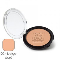 "SO'BiO kompaktpuuder nr 2 ""Golden Beige"" 10g"