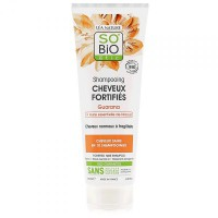 SO'BiO guaraana ja niaouliõliga tugevdav šampoon 250ml
