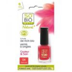 "SO'BiO küünelakk nr 04 ""Vibrant Coral"" 10ml"