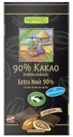 Mõrušokolaad 90% kakaod 80g Rapunzel