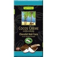 Poolmõru šokolaad kookoskreemiga 100g Rapunzel