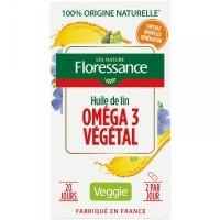 Floressance linaõliga omega-3 kapslid 40tk
