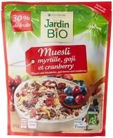 JardinBio superfruit müsli goji, jõhvika ja mustikatega 375g