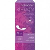 Natracare dry+light uriinipidamatuse sidemed 16tk