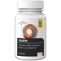 Raab Tauriin guaraana, kofeiini ja C vitamiiniga 60 kapslit