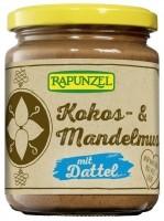 Kookose-mandli võie datlitega 250g Rapunzel