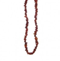 Kaelakee – Karneool tsipsid, ca. 44-48 cm