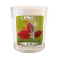 Sojavahast lõhnaküünal Leaf – klaasis
