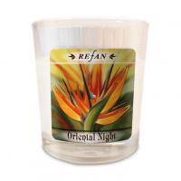 Sojavahast lõhnaküünal Oriental Night – klaasis