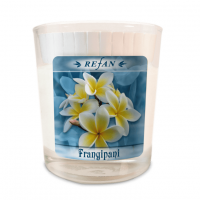 Sojavahast lõhnaküünal Frangipani – klaasis