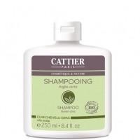 Šampoon rohelise saviga rasustele juustele 2x250ml Cattier