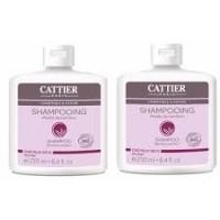 Šampoon bambuseekstraktiga kuivadele juustele 2x250ml Cattier