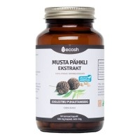 Ecosh musta pähkli ekstrakti kapslid 90tk