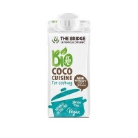 Orgaaniline kookoskoor toiduvalmistamiseks, gluteenivaba, 200ml/THE BRIDGE