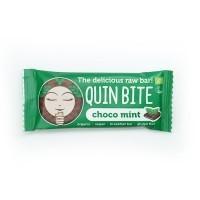 Toorbatoon šokolaad-Münt 30g Quin Bite