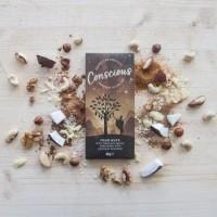 Tooršokolaad Conscious nelja pähkliga 60g