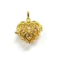 Aroomiteraapia ripats kuldne süda, 16mm