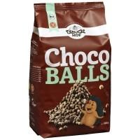 Gluteenivabad teraviljapallid šokolaadiga, 300g / Bauckhof