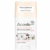 Acorelle pulkdeodorant tundlikule nahale Cotton powder 45g