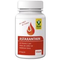 RAAB Astaxantiini 4mg kapslid E vitamiiniga 60tk